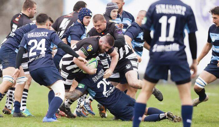 Rugbyștii au cedat meciul cu SCM Timișoara