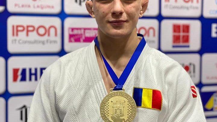 """Aur și bronz la """"European Judo Open 2021 Zagreb"""""""