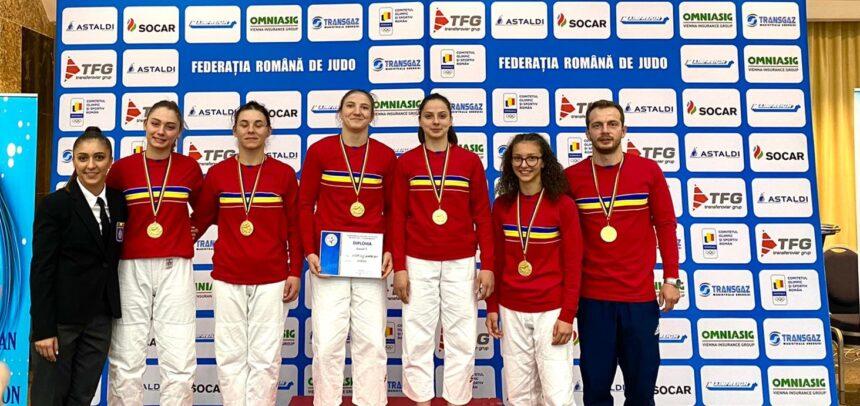 Salbă de medalii la Campionatul Național de Judo U23