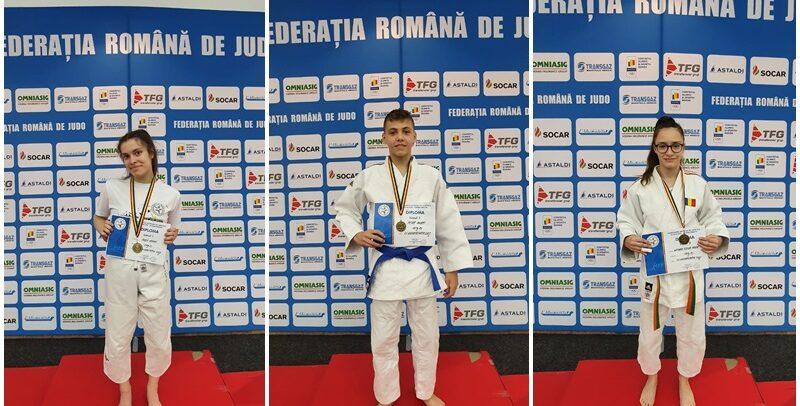 Trei medalii pentru tinerii judokani