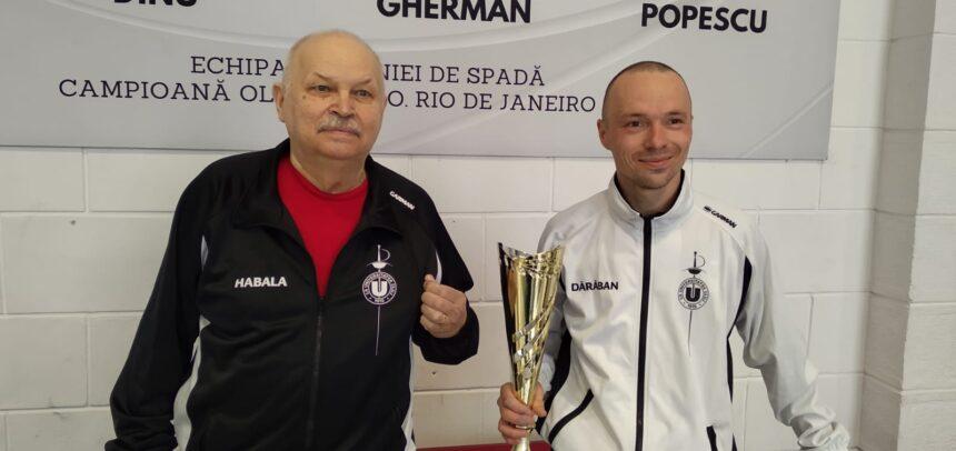Radu Dărăban a câștigat Cupa României la floretă