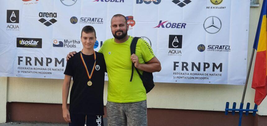 Aur și argint la Campionatele Naționale de înot