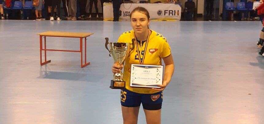 La echipa de handbal feminin a sosit o vicecampioană de juniori