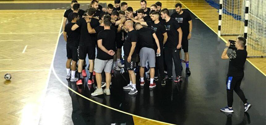 Start în pregătiri la handbal masculin