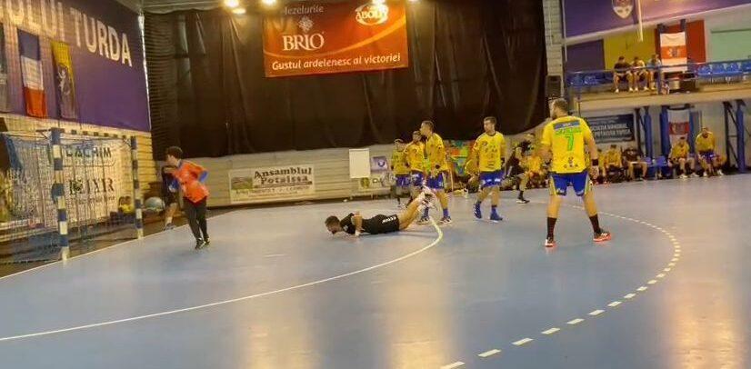 "Meci amical: ""U"" Cluj-Potaissa Turda, 33-27"