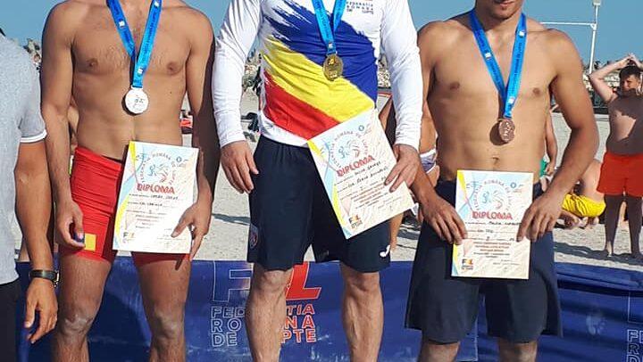 Molnos Norbert, pe podium la Costinești
