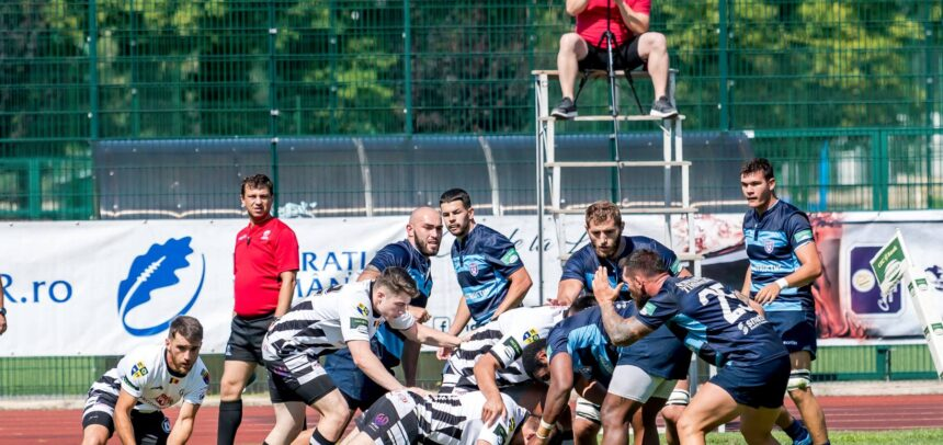 Examen dificil pentru echipa de rugby masculin