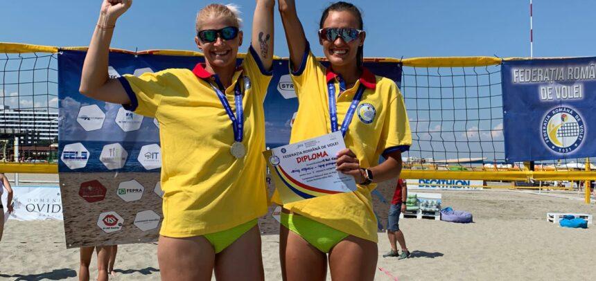 Ordean și Stanciu – campioane naționale la Beach Volley