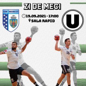 """""""U"""" Cluj joacă la București"""