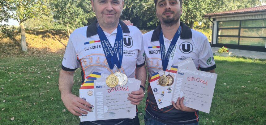 Avem doi campioni naționali la Tir Sportiv