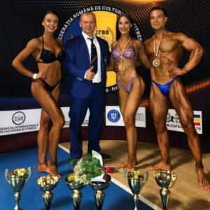 """13 medalii pentru """"U"""" Cluj la culturism și fitness"""