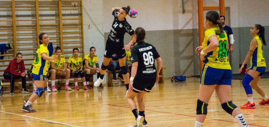 Derby în liga secundă de handbal feminin